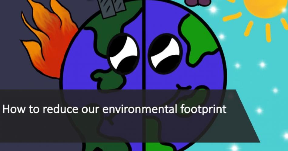 1 Reducing our environmental footprint